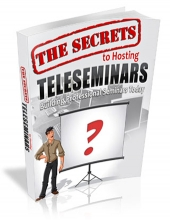The Secrets To Hosting Teleseminars eBook with private label rights