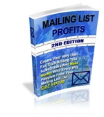 Mailing List Profits : 2nd Edition eBook with Master Resale Rights