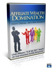 Affiliate Wealth Domination Video with Master Resell Rights
