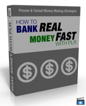 How To Bank Real Money Fast With PLR Video with Master Resell Rights