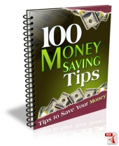 100 Money Saving Tips eBook with Master Resell Rights