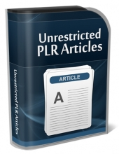 Unrestricted PLR Articles Gold Article with Private Label Rights