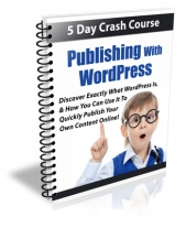 Publishing With WordPress eBook with Private Label Rights