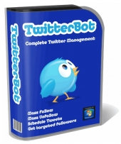 TwitterBot Software with private label rights