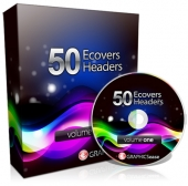 Graphics Ease 50 eCovers & Headers Graphic with Master Resell Rights
