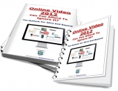 Online Video 2012 eBook with Private Label Rights