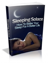 Sleeping Solace eBook with private label rights