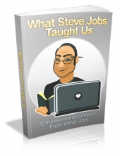 What Steve Jobs Taught Us eBook with Master Resell Rights