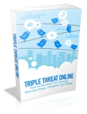 Triple Threat Online eBook with Master Resell Rights