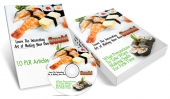 Making Your Own Sushi eBook with Master Resell Rights
