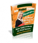 Info Product Creation Strategies eBook with Master Resale Rights