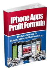 Iphone Apps Profit Formula eBook with private label rights
