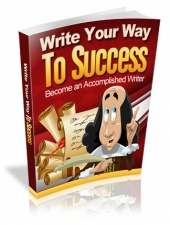 Write Your Way to Success eBook with Master Resell Rights