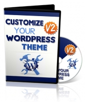 Customize Your WordPress Theme V2 Video with Master Resell Rights