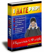 I Hate PHP! eBook with Master Resale Rights