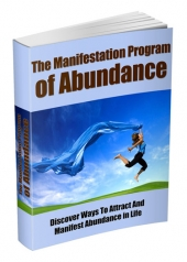 The Manifestation Program Of Abundance eBook with private label rights