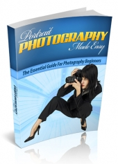 Portrait Photography Made Easy eBook with private label rights