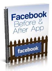 Facebook Before & After App eBook with Private Label Rights