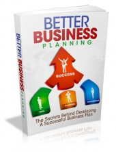 Better Business Planning eBook with Master Resell Rights
