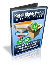 Resell Rights Profits Master Class Video with Resell Rights