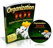 Organization 101 eBook with private label rights
