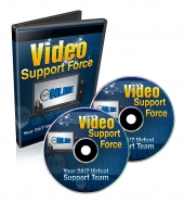 Video Support Force Video with private label rights