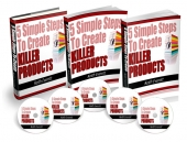 5 Simple Steps To Create Killer Products Video with Master Resell Rights