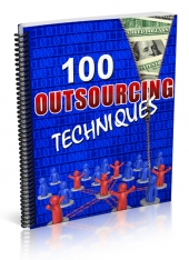 Outsourcing Techniques eBook with Private Label Rights