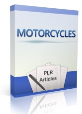 10 Motorcycles Articles Gold Article with Private Label Rights