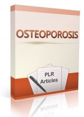 10 Osteoporosis Articles Gold Article with Private Label Rights