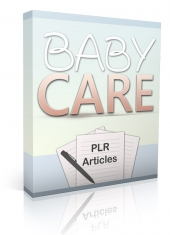 10 Baby Care PLR Articles Gold Article with Private Label Rights
