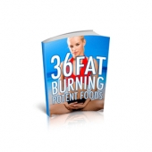 36 Fat Burning Potent Foods eBook with Master Resell Rights