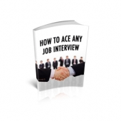 Ace Any Job Interview eBook with Master Resell Rights