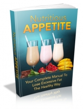 Nutritious Appetite eBook with private label rights