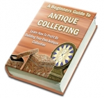 A Beginners Guide To Antique Collecting eBook with Master Resale Rights
