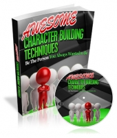 Awesome Character Building Techniques eBook with private label rights