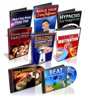 Eight Hypnosis Tracks Audio with Private Label Rights