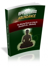 Effortless Abundance eBook with private label rights
