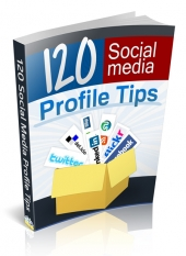 120 Social Media Profile Tips eBook with