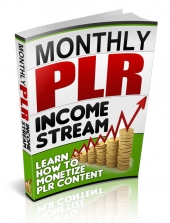 Monthly PLR Income Stream eBook with