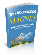 The Abundance Magnet eBook with private label rights