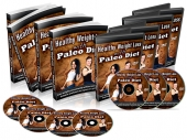 Healthy Weight Loss With Paleo Diet Video with Master Resell Rights