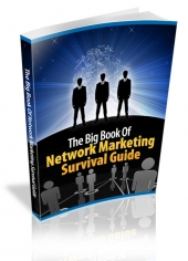 The Big Book Of Network Marketing Survival Guide eBook with private label rights