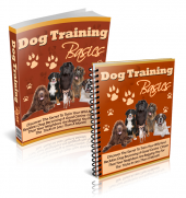 Dog Training Basics eBook with Resell Rights