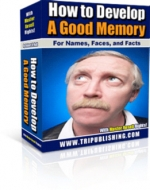 How to Develop A Good Memory eBook with Master Resale Rights