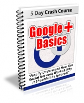 Google Plus Basics eBook with Private Label Rights