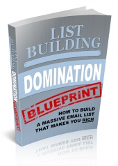 List Building Domination Blueprint eBook with Private Label Rights
