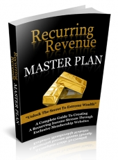 Recurring Revenue Master Plan eBook with Private Label Rights