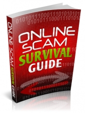 Online Scam Survival Guide eBook with Private Label Rights