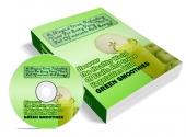 Green Smoothies eBook with private label rights